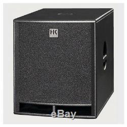 2x Bassin De Basse Subwoofer Actif Hk Audio Premium Pro18sa 18 Dj Disco Pa