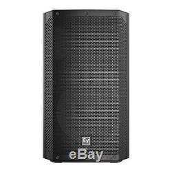 2x Electrovoice Elx200-12p Actif 12 Pa Président 1200w Dj Disco Sound System