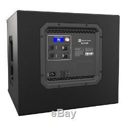 2x Electrovoice Elx200-12sp Actif 12 Caisson De Basses-parleurs Bass Dj Disco 1200w