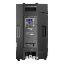 2x Electrovoice Elx200-15p Actif 15 Pa Président 1200w Dj Disco Sound System