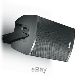 2x Fbt X-lite 12a 12 2000w Powered Pa Active Speaker Band Dj Disco + Xlr Leads