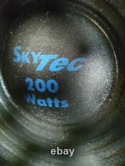 2x Haut-parleurs Pa (paire) Made Par Skytek 200w Chaque Disco Studio Stéréo