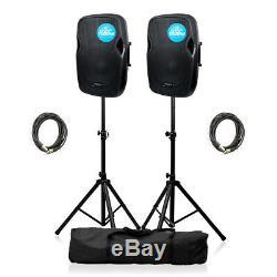 2x Kam Rz12a V3 Active 1000w Haut-parleur Dj Disco Sound System Bundle Pa