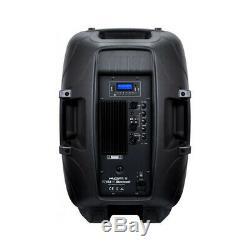 2x Kam Rz15a V3 1200w Active Speaker Pa Bluetooth Dj Disco Sound System