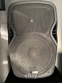 2x Kam Rz15a V3 15 Haut-parleurs Disco Actifs Dj Gamme Complète, 1200 W