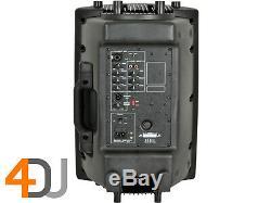 2x Qtx Qx12a Powered Actif 12 400w Dj Disco Moulé Haut-parleurs