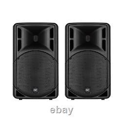 2x Rcf Art 315-a Mk4 15 700w 2-way Actived Dj Disco Club Band Pa Speaker