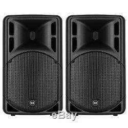 2x Rcf Art 315-a Mk4 Haut-parleurs Professionnels De Scène Dj Disco Professionnels De 15 Pouces