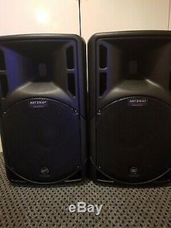 2x Rcf Art 315-a Mk4 Professional 15 Pouces Active Dj Disco Club Scène Haut-parleurs