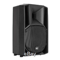 2x Rcf Art 710-a Mk4 Haut-parleurs Professionnels De Scène Dj Disco Professionnels De 10 Pouces