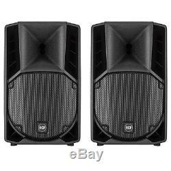 2x Rcf Art 710-a Mk4 Professional 10 Pouces Active Dj Disco Club Scène Haut-parleurs
