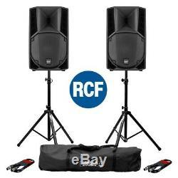 2x Rcf Art 712-a Mk4 Haut-parleurs Professionnels De Scène Dj Disco Professionnels De 12 Pouces