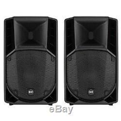 2x Rcf Art 712-a Mk4 Professional 12 Pouces Dj Actifs Disco Club Scène Haut-parleurs