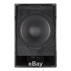 2x Rcf Evox 5 Tableau À Deux Colonnes Haut-parleur Actif Système 800w Dj Disco Sound System