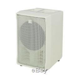2x Rcf J8 Système De Haut-parleurs Actifs, Blanc, Colonne, Rangée, Mariage 1400w, Dj Disco