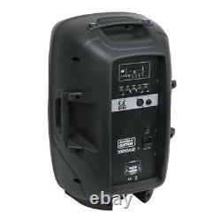 2x Showgear Venga 12 Active Speaker 12 Pa Sound System Dj Disco