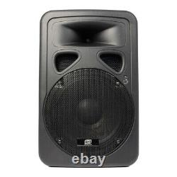 2x Skytec Sp1200abt 12 Bluetooth Actif Dj Disco Pa Haut-parleurs 1200w Max