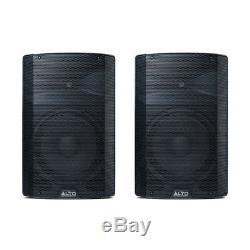 2x Système De Sonorisation Dj Alto Professional Tx212 Active 12 Haut-parleur 600w Dj Disco