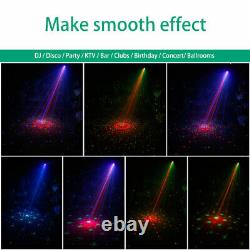 4pcs Microphone Shell Dp6 Laser Light Rg Laser Bluetooth Speaker Dj Disco Usb Uk