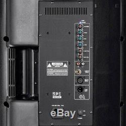 700w 12 Bi-amplified Powered Active Speaker Pa Party Dj Disco Système 8 Ohm