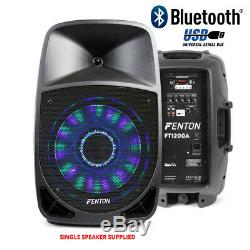 Actif Dj Président Pa Mobile Bluetooth Disco Party Karaoke Système 12 250w + MIC