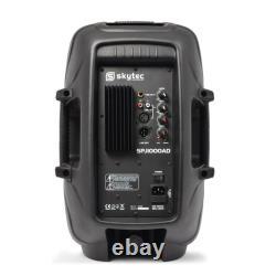 Active 10 Pa Speaker 400w 2-way Party Loudspeaker Bass Karaoke Dj Disco System