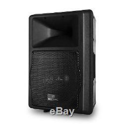 Active Pa Karaoke Enceinte 550w Rms 2x Entree Microphone Home Dj Disco Party Stage