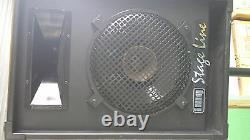 Active Pa Stage Guitar Disco Entertainer 500 Watt Original Monacor 230v