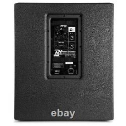 Active Powered Pa Subwoofer 18 Pouces High Pass Bass Speaker 1400w Dj Disco Club