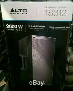 Alto Truesonic Ts312 Haut-parleur Dj Disco Powered Stage Band Pa Président