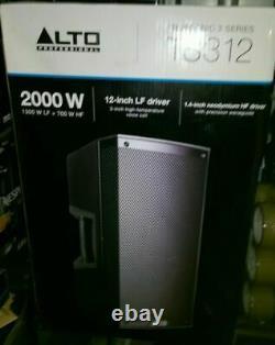 Alto Truesonic Ts312 Powered Loudspeaker Dj Disco Band Scène Pa Speaker