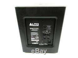 Alto Ts212s Dj Disco Active Powered Scène / Pa 12subwoofer Withpower Plomb + Garantie
