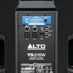 Alto Ts215w Haut-parleur Puissant 1100w Bluetooth Disco Dj De 15 Pouces Avec Bluetooth