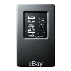 Alto Ts218s Bass Bass Actif 18 Système De Sonorisation Dj Disco 1250w