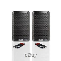 Alto Ts308 Active 8 1000w Rms Dj Disco Pa Président (paire) + Câbles Xlr Gratuit