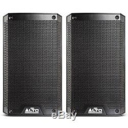 Alto Ts308 Active 8 1000w Rms Dj Disco Stage Band Pa Président (paire)