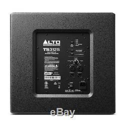Alto Ts312s Active 12 2000w Subwoofer Bass Bin Haut-parleur Dj Disco Système De Son