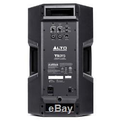 Alto Ts315 15 Enceintes Amplifiées Actives 2000w Pa Dj Disco Stage Uk Avec Câble Gratuit