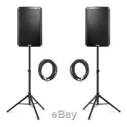 Alto Ts315 4000w Actifs 15 Dj Disco Haut-parleurs (paire) Avec Free Stands & Cable