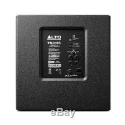 Alto Ts315s Actif 15 2000w Caisson De Basses Graves Bin Dj Disco Président Sound System