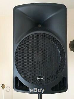 Alto Tx15 600w Haut-parleurs Actifs, Mixer, Lumières, Stands Et Tous Les Câbles, Disco, Pa
