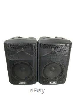 Alto Tx208 Actif 330 Watt Powered 8 Dj Disco Enceintes De Sono (paire) Pas De Câbles