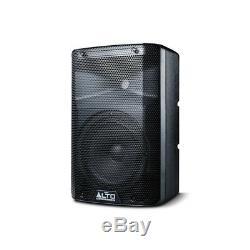 Alto Tx208 Active 8 Enceinte De Sono Dj Disco Band Avec Pieds Et Câbles Gorilla