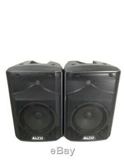 Alto Tx208 Active Powered 330 Watt 8 Dj Disco Pa Président Description Read