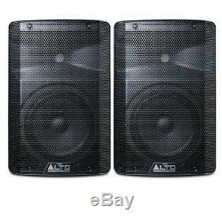 Alto Tx208 Haut-parleur De Sonorisation Dj Disco Stage Powered 150 (150 W Rms)