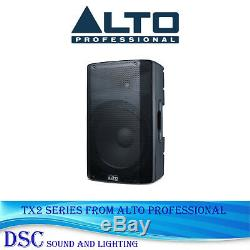 Alto Tx210 300 Watt Actif 10 Powered Dj Disco Band Président Amplified