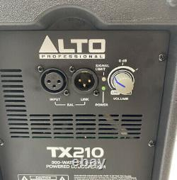 Alto Tx210 300w 10 Powered 2 Voies Haut-parleur Actif Rms Dj Disco Club Band Pa