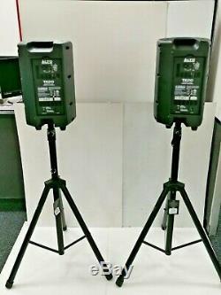Alto Tx210 Actifs 10 300w Dj Disco Haut-parleurs Avec Des Stands, X2mics Et Zmx Mélangeur
