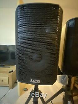Alto Tx210 Actifs 10 600w Rms Dj Disco En Direct Haut-parleurs (paire) Avec Câbles Xlr