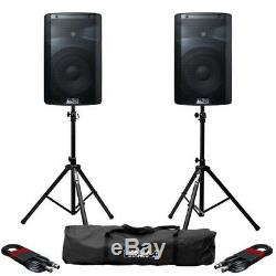 Alto Tx210 Active 10 150w Rms Enceinte De Sonorisation Dj Disco Avec Supports Et Câbles